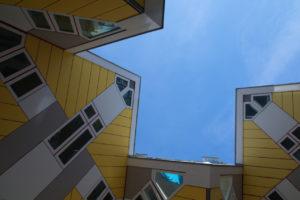 Waarom je een huurhuis in Rotterdam wil hebben: mooie architectuur als de kubuswoningen